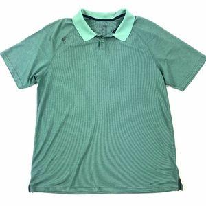 Rhone Shirts - Rhone Short Sleeve Lightweight Polo Shirt Sz L